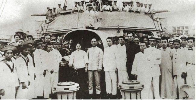 Dr. Sun Yat Sen and Madam Soong